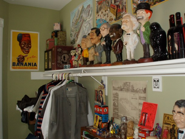 a peek into my closet